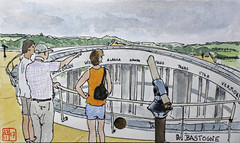 Bastogne (chando*) Tags: aquarelle watercolor croquis sketch