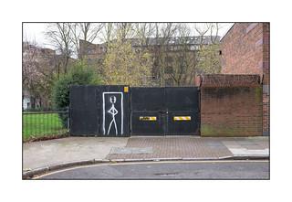 Yard Gates, East London, England.