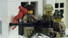 Soviet Machine gun crew (Force Movies Productions) Tags: war weapons wwii world wars eastern lego helmet helmets gear legophotograghy rifles rifle toy toys trooper troops troop youtube ii officer soldier conflict pose cool movie soldiers moc photograpgh photo picture photograph animation scene stopmotion film firearms gun guns history custom bricks brickarms brickfilm brickizimo brick brickmania minfig minifig military minifigure minifigs militia soviet union russian machine