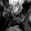 In Canyons 159 (noahbw) Tags: d5000 grandstaircaseescalantenationalmonument nikon utah williscreek abstract autumn blackwhite blackandwhite bw canyon cliffs desert erosion landscape light monochrome natural noahbw rock shadow slotcanyon square stone stream