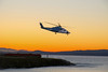 A great way to fly! (RebelRob) Tags: britishcolumbia sikorsky helijet helicopter vancouverisland victoriabc sunset