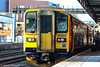 153308 stands at Lincoln Central (trainferrystuff) Tags: trains railways 2t40 class 153 153308 lincoln central