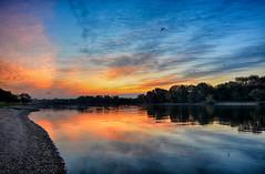 Dawn Breaks on the Illinois (kendoman26) Tags: hdr nikhdrefexpro2 nikon nikond7100 tokinaatx1228prodx tokina tokina1228 sunrise dawn sky clouds illinoisriver morrisillinois travelillinois enjoyillinois