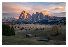 Alpe di Siusi (shaunyoung365) Tags: landscape sonya7rii sunset dolomites italy mountains