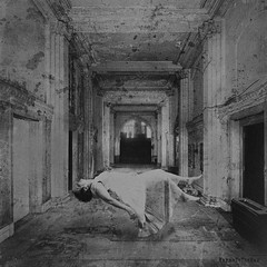 She Dreams (WayneToTheMax) Tags: hall chamber room float dream woman suspend lost deep forgotten light weightless best good positive negative new sleep vision