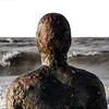 Crosby (Mark Dickens) Tags: crosbybeach anotherplace anthonygormley ironman art artist sculpture statue rusty sea waves