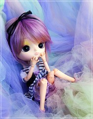 ✧ Rainbow Dreams ✧ (Pliash) Tags: dal doll cute kawaii pullip groove family cinnamoroll 10th anniversary purple hair pastel colors emo kid