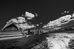 DSC00918 (Damir Govorcin Photography) Tags: circular quay harbour sydney opera house blackwhite wide angle zeiss 1635mm sony a7rii natural light clouds