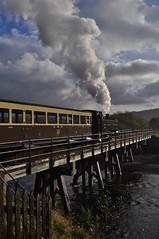30742 Charters - No.8 at the Vale of Rheidol Railway (Martin Creese) Tags: 30742charters vale rheidol railway photography photocharter wales gwr great western nikon d90