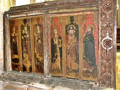 Walpole St Peter Norfolk (jmc4 - Church Explorer) Tags: walpole st peter walpolestpeter screen saints painting church norfolk