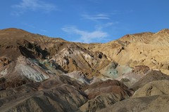 Artist's Palette, Death Valley, CA (cpbs1965) Tags: deathvalley artists palette california mountain rock landscape sky scenic blackmountains oxidation
