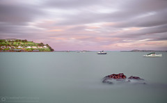 Long Exposure Photography at Devonport, New Zealand