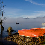 Autumn atmosphere on the Italian Lago Maggiore thumbnail