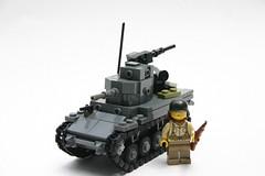 M3 Stuart (ModernBrix) Tags: m3 stuart lego modernbrix allies world war two wwii ww2 tracked vehicle tank united states military army moc build modern brix