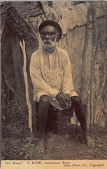 A New South Wales aboriginal King - circa 1900 (Aussie~mobs) Tags: starphotocompany australia vintage newsouthwales indigenous aborigine aboriginalking tribalking breastplate king native aussiemobs