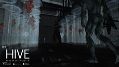 Hive: T-001 (Andy2 Spore) Tags: thehive tvirus tyrant residentevil tactical biohazard outbreak secondlife laboratory re1 videogame roleplay raccooncity arklay science commando monster zombie virus