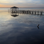 Duck Pier - Currituck Sound -   Outer Banks North Carolina thumbnail