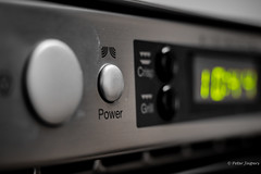 Push the button (Peter Jaspers) Tags: frompeterj© 2017 olympus zuiko omd em10 1240mm28 macro macromondays buttonsandbows button power microwave bokeh dof kitchen home