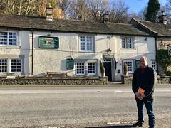 The Chequers Inn, Froggatt 2017 (Dave_Johnson) Tags: chequersinn chequers inn publichouse pub ale beer realale alcohol froggatt hopevalley derbyshire froggattedge curbaredge curbar selfie map ordnancesurveymap osmap