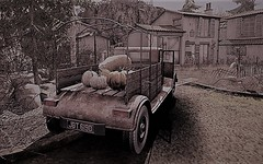 JDT 619D (ᗷOOᑎᕮ ᗷᒪᗩᑎᑕO) Tags: secondlife neva river building grass tree road sheep pumpkins nature natural sim sl af applefall