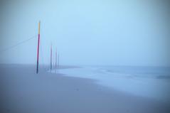 Poles (Andreas Steffen) Tags: nordsee northsea langeoog stille lanzeitbelichtung longexposure strand beach grey grau rot red silence sony alpha slt57