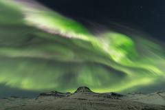 Northern lights in Fáskrúðsfjörður (*Jonina*) Tags: iceland ísland faskrudsfjordur fáskrúðsfjörður auroraborealis northernlights norðurljós longexposure sky himinn mountains fjöll digritindur jónínaguðrúnóskarsdóttir november7th2017