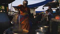 Sundari_Akka_kadai (Sudharsan Ravikumar) Tags: marina fish prawn shop streets lights shadows colorsa chennai streetphotography layers ngc 121clicks 500px