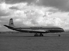 5301. Royal Canadian Air Force de Havilland Comet 1A (Ayronautica) Tags: 1958 october 5301 dehavillandcomet1a military royalcanadianairforce rcaf ayronautica aviation scanned prestwick pik egpk