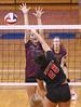 IMG_7696 (SJH Foto) Tags: girls volleyball high school garnet valley hempfield hs team net battle spike block action shot jump midair burst mode