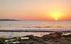 I think about you (Francesco Impellizzeri) Tags: trapani sicilia sunset panasonic rocks waves