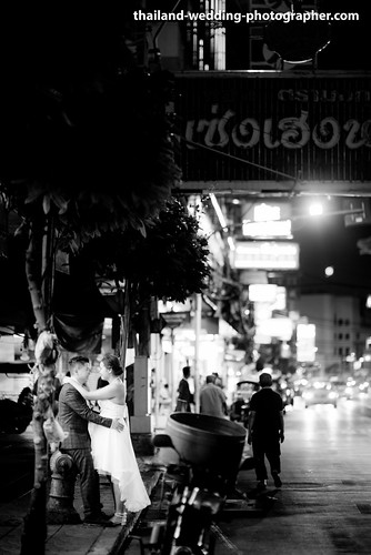 China Town Bangkok Wedding Photography