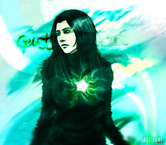 Geist (Ghost) (March 2013) (JADE LUNE) Tags: art digital original character geist