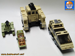 K-2001-RAIDER-COMMAND-with-TOY 02 (baronsat) Tags: lego matchbox adventure 2000 raider command landraider custom moc model instructions