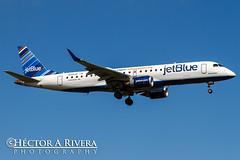 N355JB (Hector A Rivera Valentin) Tags: n355jb jetblue embraer 190 tjsj stt st thomas puerto rico promo