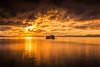 sunset 8405 (junjiaoyama) Tags: japan sunset sky light cloud weather landscape orange contrast colour bright lake island water nature fall autumn