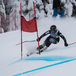 FIS Coaches Cup Sun Peaks Ladies GS - Frances MacDonald (2nd place) PHOTO CREDIT: Chris Naas