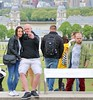 Greenwich Tourists (Waterford_Man) Tags: greenwich mobile electronic phone people london tree candid