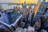Skyscrapers City (Tony Shi Photos) Tags: nyc ny newyorkcity newyork manhattan downtown fidi financialdistrict wallstreet wallst lower lowermanhattan downtownmanhattan 70pine deutschebank 60wall 40wall onechasemanhattanplaza skyline urban roof rooftop