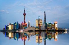 The Lujiazui Skyline (Scholesville) Tags: shanghai china pudong lujiazui cityscape skyline asia skyscrapes huangpu river urban exploration