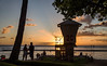 Tower 2C (OzzRod) Tags: pentax k1 hdpentaxdfa28105mmf3556 sunset tropics lifeguard tower tree silhouette waikiki honolulu hawaii