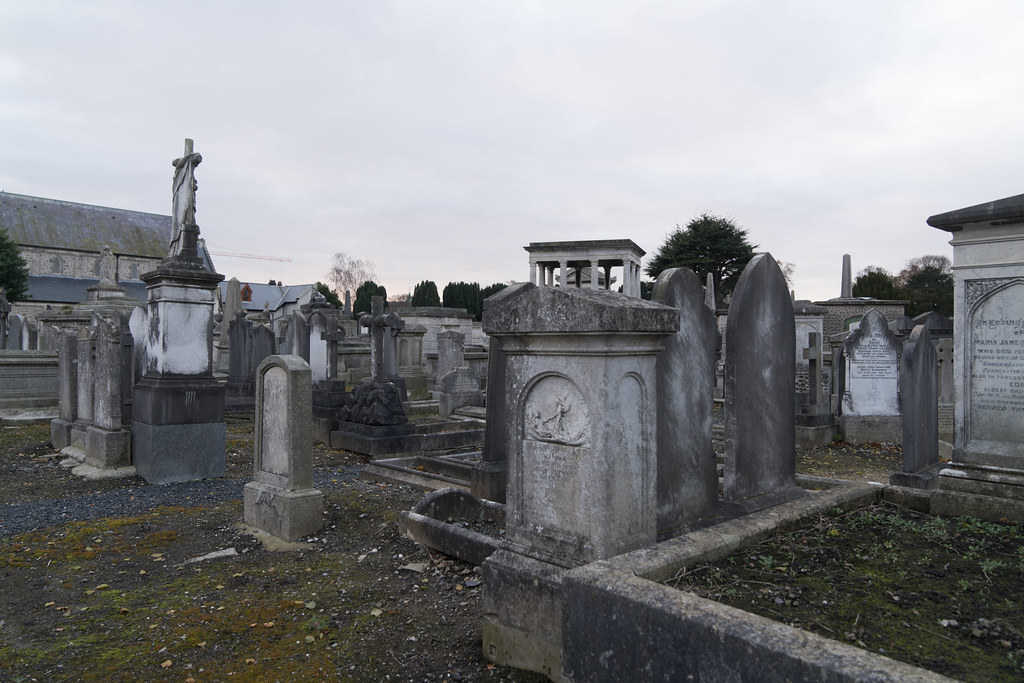 MOUNT JEROME CEMETERY IS AN INTERESTING PLACE TO VISIT [IT CLOSES AT 4PM]-134358