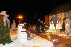 HOLIDAY ALLEY - SELKIRK (RWinnipeg photo) Tags: holiday alley selkirk manitoba canada