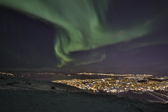 CB3B6456a (Les Blain) Tags: tromso norway aurora borealis hdr fjellstua cablecar