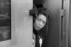 DSC_2738 B&W City of London Bishopsgate Police Station Alesha Jamaican Dreadlocks (photographer695) Tags: city london bishopsgate police station alesha jamaican dreadlocks