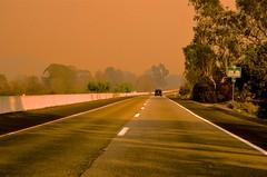 Up Highway 33 (hecticskeptic) Tags: thomasfire ventura california smoke fire gloom highway126 highway101 surferspoint markamorgan december52017