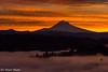 Mt. Hood at sunrise (Tri Minh) Tags: sunrise oregon sandy mthood