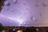 Lightening ((arteliz)) Tags: lightening thunder storm skyline view city cityview cityskyline melbourne melbourneweather arteliz artelizphotography light lighting lighteningstrike flash bright rain