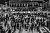 Liverpool Street (Anders Dal) Tags: liverpoolstreet station people commuting london floor board train tube underground birdview nikon d90 tripod exposure long uk blackandwhite blacknwhite bnw black white monochrome travelling movement blur motion flickr folk folks