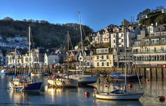 Early morning in Looe, Cornwall (Baz Richardson (trying to catch up again!)) Tags: cornwall looe westlooe looeriver yachts smallboats