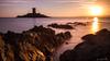 "Dramont / Ile d'Or (""Mon païs"") Tags: dramont landscape sunset iledor paca var cotedazur island seascape clouds sun light tower canon 7d 1755 longexposure poselongue filter ndfilter filtrend"
